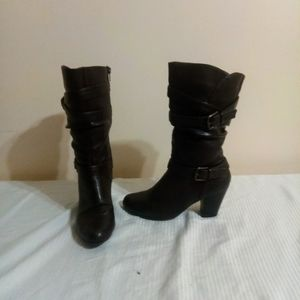 Apt. 9 Slouchy Buckle Boots